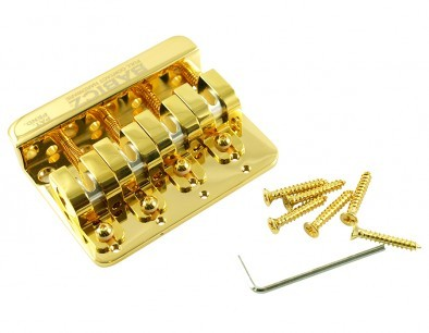 wd music products babicz full contact hardware 4 string bass bridge gold. Black Bedroom Furniture Sets. Home Design Ideas