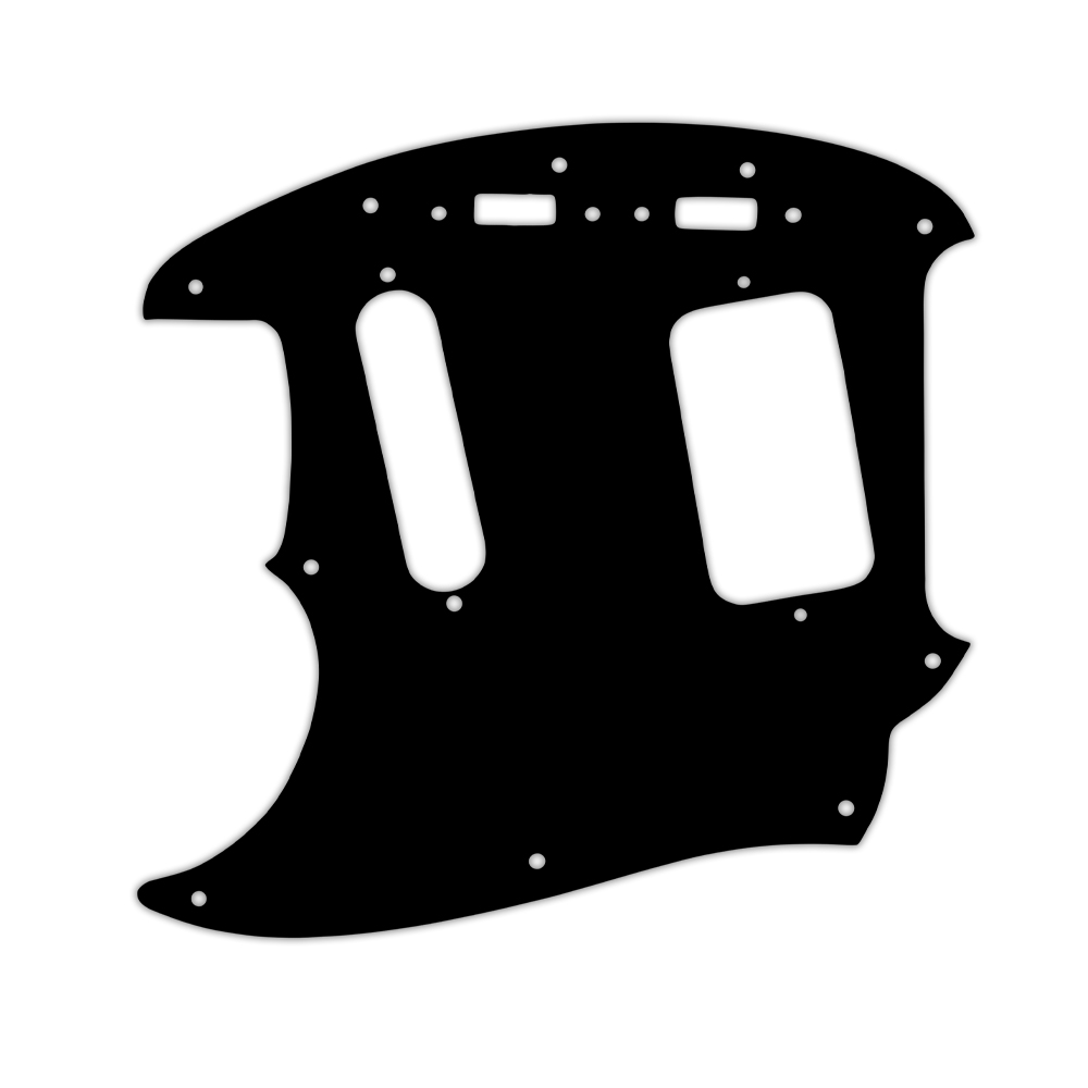 WD Custom Pickguard For Left Hand Fender 1990's Jag-Stang