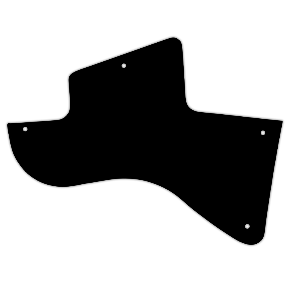 WD Custom Pickguard For Left Hand Gibson Les Paul Special
