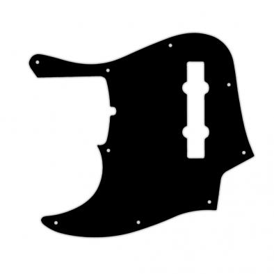 WD Custom Pickguard For Left Hand Fender 2019 5 String American Ultra Jazz Bass V