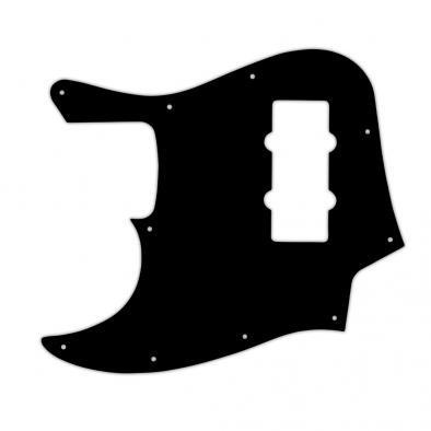 WD Custom Pickguard For Left Hand Fender 2012-2013 Made In China Modern Player Jazz Bass