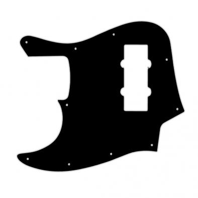 WD Custom Pickguard For Left Hand Fender 2014 Made In China Modern Player Jazz Bass Satin