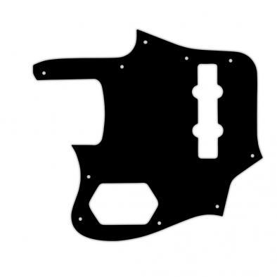 WD® Custom Pickguard For Left Hand Fender® 2006-2009 Made In Japan Deluxe Jaguar Bass®