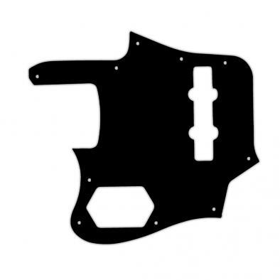 WD® Custom Pickguard For Left Hand Fender® 2012-2013 Made In Japan Deluxe Jaguar Bass®
