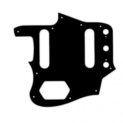 WD® Custom Pickguard For Left Hand Fender® USA 1962-1975 Or 1996-1997 Made In Japan Reissue Jaguar®