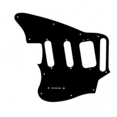 WD® Custom Pickguard For Left Hand Fender® Pawn Shop Jaguarillo®