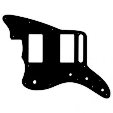 WD® Custom Pickguard For Left Hand Fender® Special Edition Blacktop Jazzmaster HH®