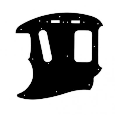 WD Custom Pickguard For Left Hand Fender Kurt Cobain Mustang