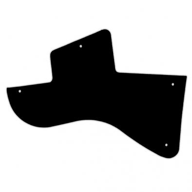 WD Custom Pickguard For Left Hand Gibson Les Paul Junior Special Humbucker