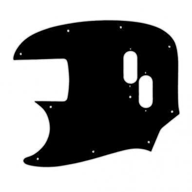 WD® Custom Pickguard For Left Hand Fender® 2002-Present Made In Japan Mustang Bass® Reissue