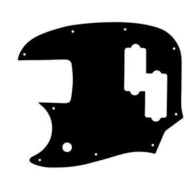 WD® Custom Pickguard For Left Hand Fender® Short Scale Mustang Bass® PJ