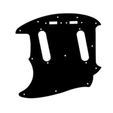 WD® Custom Pickguard For Left Hand Fender® 1964-1982 Mustang®