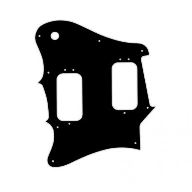 WD Custom Pickguard For Left Hand Fender 2012-2013 Made In Mexico Pawn Shop Super-Sonic