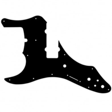 WD® Custom Pickguard For Left Hand Fender® Roscoe Beck Signature 5 String Jazz Bass®
