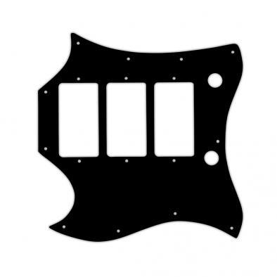 WD Custom Pickguard For Left Hand Gibson 1964-1970 Full Face SG Custom