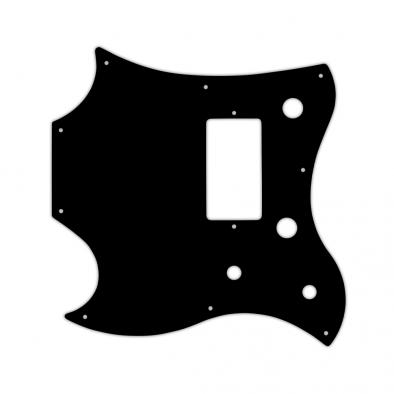 WD Custom Pickguard For Left Hand Gibson 2011 SG Style Melody Maker