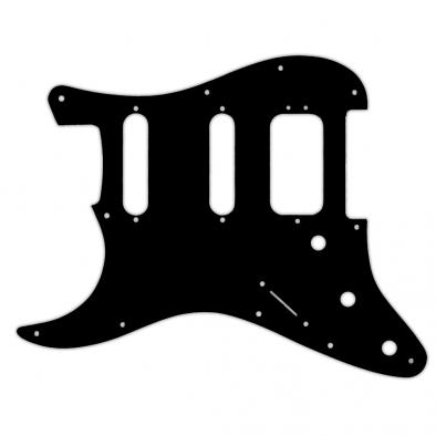WD Custom Pickguard For Left Hand Fender 2019 American Ultra Stratocaster HSS