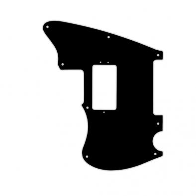 WD Custom Pickguard For Left Hand Fender Limited Edition American Professional Offset Telecaster