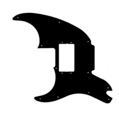 WD Custom Pickguard For Left Hand Fender Pawn Shop '72