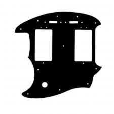 WD® Custom Pickguard For Left Hand Fender® Pawn Shop Mustang® Special