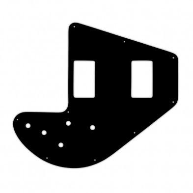 WD Custom Pickguard For Gibson 1975-1983 Ripper Bass #03 Black//White//Black