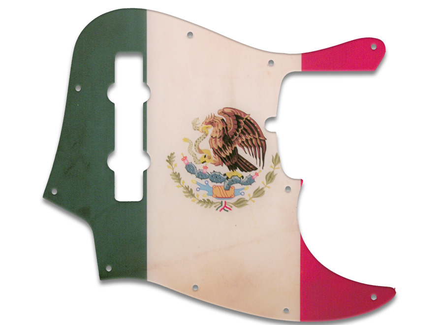 wd music products fender jazz bass american 5 string mexican flag relic. Black Bedroom Furniture Sets. Home Design Ideas
