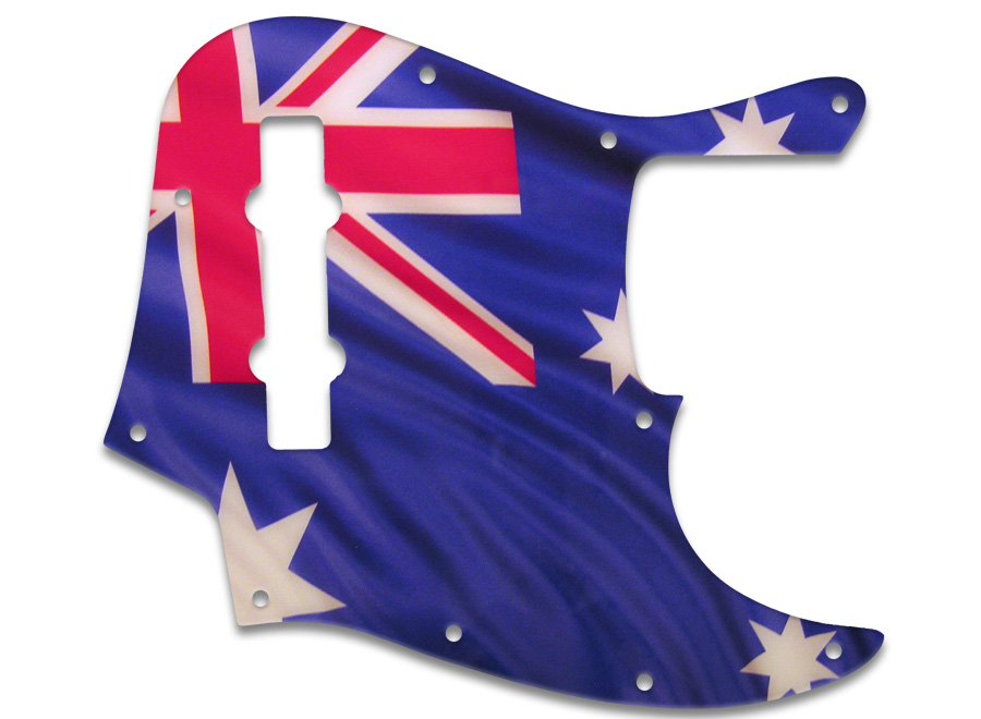 wd music products fender jazz bass mexican 5 string austrailian flag. Black Bedroom Furniture Sets. Home Design Ideas