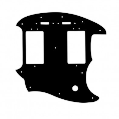 WD® Custom Pickguard For Fender® Pawn Shop Mustang ... on