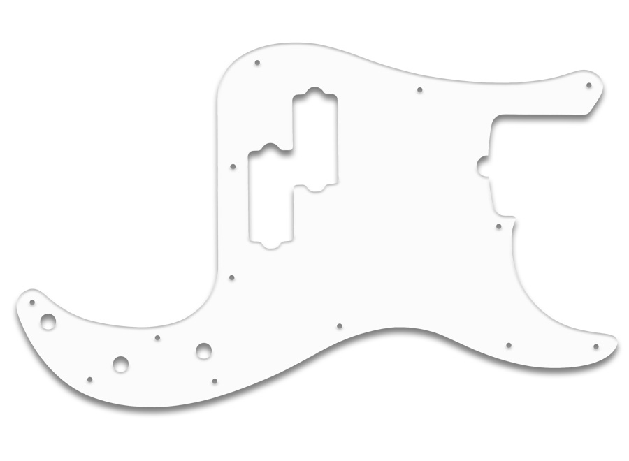 wd music products fender american 5 string p bass solid white thin. Black Bedroom Furniture Sets. Home Design Ideas