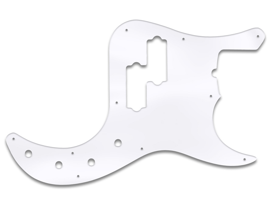 Famous jazz bass pickguard template photos example for Jazz bass pickguard template
