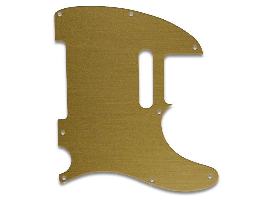 Wd Music Products Fender Telecaster Brushed Gold