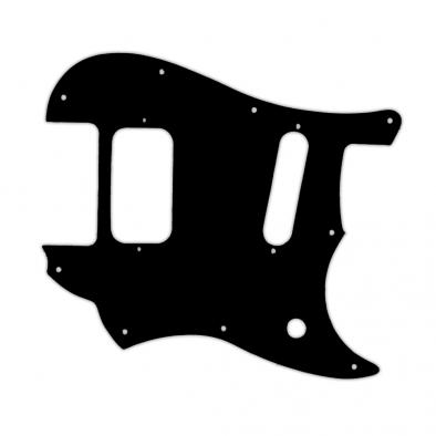 WD Custom Pickguard For Fender 2016-2019 Made In Mexico Duo-Sonic Offset HS - Custom Designed For Kurt Cobain Mustang Modification
