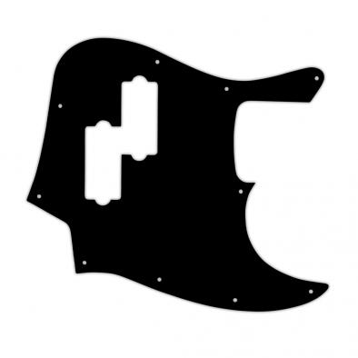 WD® Custom Pickguard For Fender® Blacktop Jazz Bass®