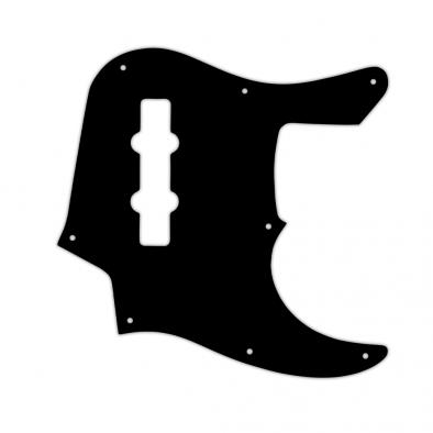 WD® Custom Pickguard For Fender® 22 Fret Longhorn Jazz Bass®