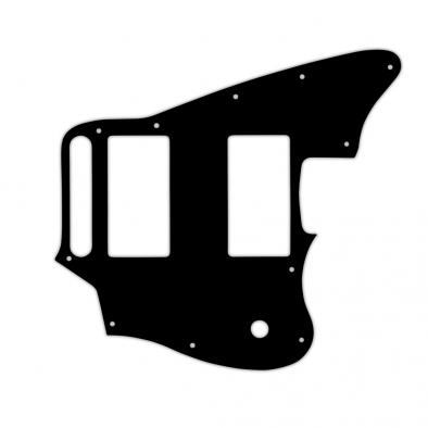 WD Custom Pickguard For Fender Blacktop Jaguar