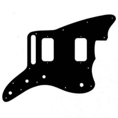 WD Custom Pickguard For Fender Jazzmaster HH