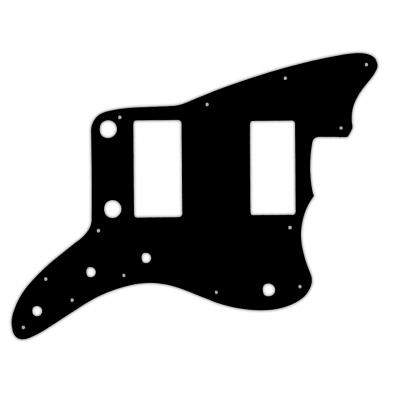 WD Custom Pickguard For Fender 2013-2014 Made In China Modern Player Jazzmaster HH