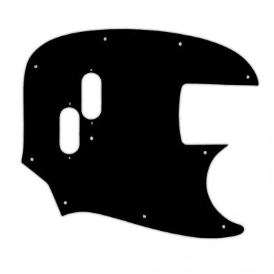 WD® Custom Pickguard For Fender® 2002-Present Made In Japan Mustang Bass® Reissue