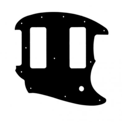 WD Custom Pickguard For Fender OffSet Series Mustang