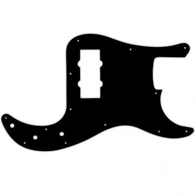 WD Custom Pickguard For Fender Blacktop Precision Bass