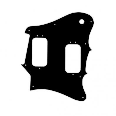 WD Custom Pickguard For Fender 2012-2013 Made In Mexico Pawn Shop Super-Sonic