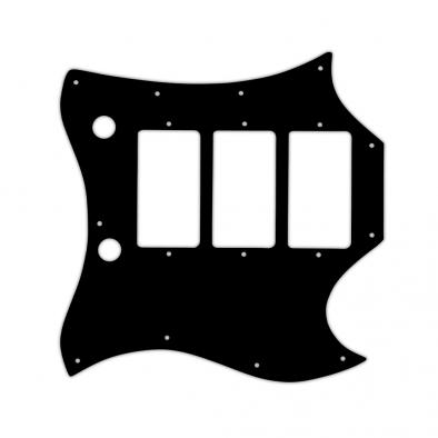 WD® Custom Pickguard For Gibson® 1964-1970 Full Face SG® Custom