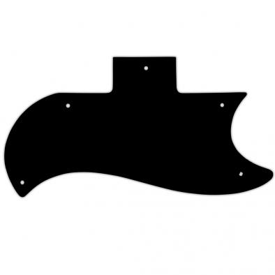 WD® Custom Pickguard For Gibson® 1961-1970, 1971-Present, Or 1961 Reissue Half Face SG®
