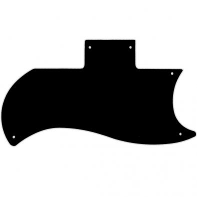 WD® Custom Pickguard For Gibson® 1971-Present Or 1961 Reissue Half Face SG®