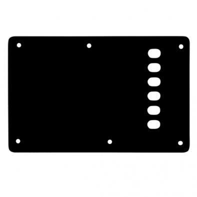 WD® Custom Pickguards Vintage Style Backplate For Fender® Stratocaster®