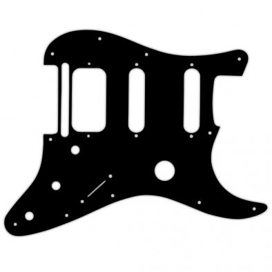 WD® Custom Pickguard For Fender® Fishman® TriplePlay Stratocaster® HSS