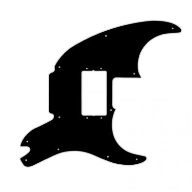 WD Custom Pickguard For Fender Pawn Shop '72