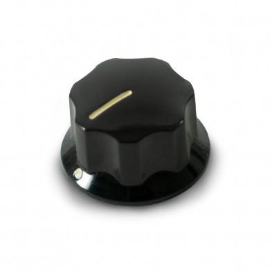 Black Concentric Plastic Fender Knob Set