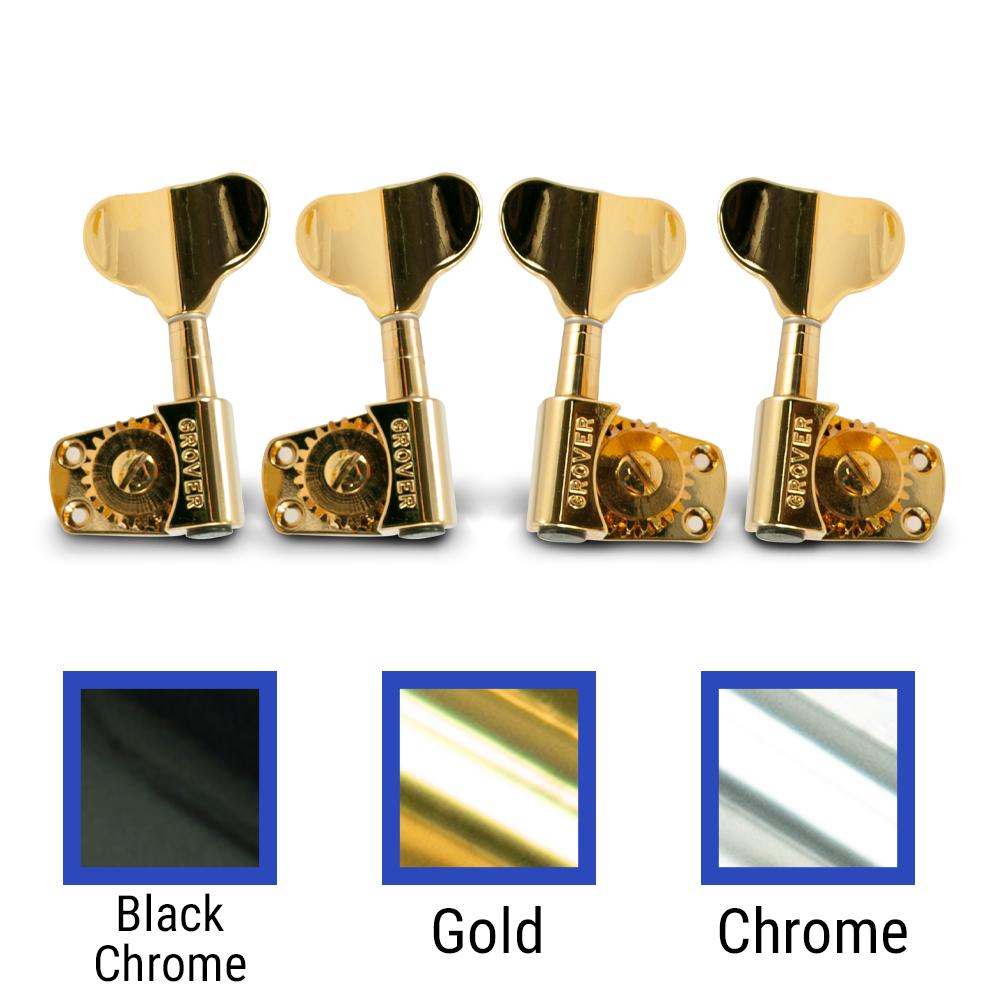 2 per side Grover Titan Electric Bass Machines
