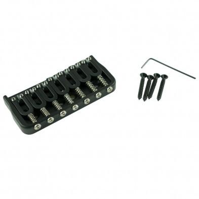 Hipshot® 7 String Fixed Guitar Bridge Black